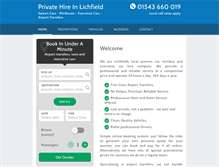 Tablet Preview of lichfieldtaxis.co.uk